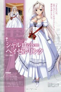 Rating: Safe Score: 41 Tags: charlotte_hazelrink cleavage dress komori_kei princess_lover! profile_page ricotta User: YamatoBomber