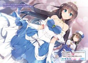 Rating: Safe Score: 44 Tags: chuuko_demo_koi_ga_shitai! cleavage dress maid redrop User: kiyoe
