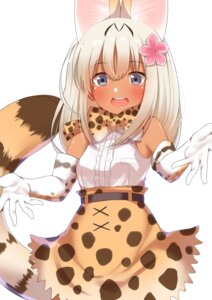 Rating: Questionable Score: 38 Tags: animal_ears cosplay go-1 kantai_collection kemono_friends ro-500 serval tail User: Mr_GT