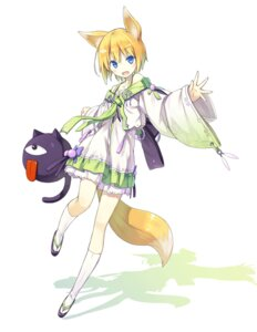 Rating: Safe Score: 47 Tags: animal_ears asahiage kitsune poco tail User: Anonymous