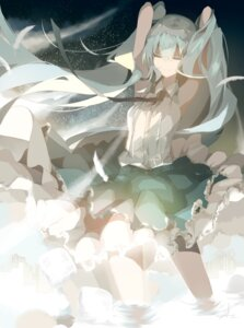 Rating: Safe Score: 42 Tags: autographed hatsune_miku saihate vocaloid wet User: charunetra