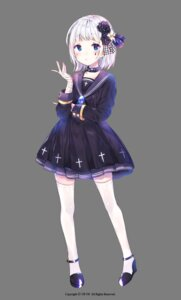 Rating: Safe Score: 22 Tags: bandages heels seifuku thighhighs transparent_png urim User: yanis