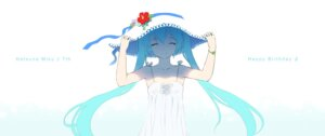 Rating: Safe Score: 50 Tags: cait dress hatsune_miku summer_dress vocaloid User: Mr_GT