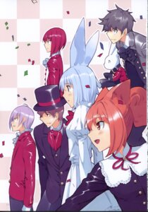 Rating: Safe Score: 5 Tags: animal_ears bunny_ears dress fancy_fantasia ueda_ryou User: fireattack