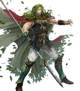 Rating: Questionable Score: 3 Tags: fire_emblem fire_emblem:_seisen_no_keifu fire_emblem_heroes heels nintendo soeda_ippei torn_clothes travant weapon User: fly24