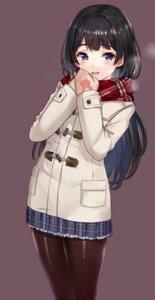 Rating: Questionable Score: 58 Tags: akasa_ai nijisanji pantyhose seifuku tsukino_mito User: hiroimo2