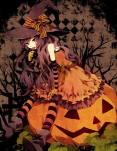 Rating: Safe Score: 34 Tags: dress halloween pantyhose yuzuki_karu User: Nekotsúh