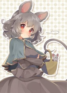 Rating: Safe Score: 46 Tags: animal_ears breast_hold dress nazrin tail touhou usamata User: nphuongsun93