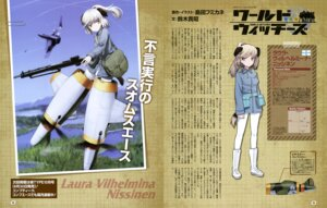 Rating: Questionable Score: 11 Tags: animal_ears gun laura_vilhelmina_nissinen pantyhose shimada_humikane strike_witches tail uniform User: drop
