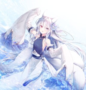 Rating: Safe Score: 27 Tags: animal_ears heterochromia kitsune no_bra tagme tail wet User: Mr_GT