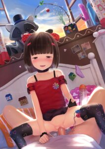 Rating: Explicit Score: 50 Tags: liclac loli nopan penis pussy pussy_juice sex skirt_lift thighhighs uncensored vibrator User: Maz1300