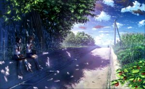 Rating: Safe Score: 29 Tags: bokuden landscape seifuku User: blooregardo