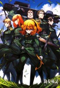 Rating: Questionable Score: 9 Tags: gun sword toujou_chika uniform weapon youjo_senki User: drop