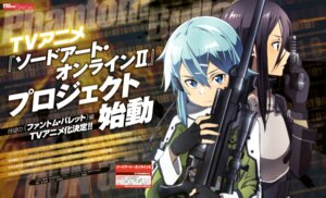 Rating: Safe Score: 20 Tags: adachi_shingo gun gun_gale_online kirito sinon sword_art_online User: drop