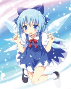 Rating: Safe Score: 35 Tags: cirno touhou wings yamasan User: Nekotsúh