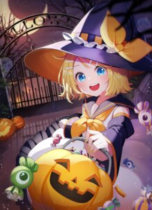 Rating: Safe Score: 22 Tags: halloween kagamine_rin nani_(goodrich) vocaloid witch User: Mr_GT