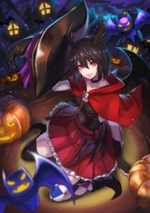 Rating: Safe Score: 13 Tags: fate/grand_order halloween ortlinde_(fate/grand_order) re_(re_o9) thighhighs valkyrie_(fate/grand_order) wings witch User: Mr_GT