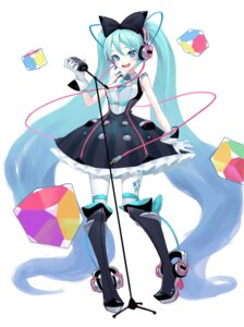Rating: Safe Score: 24 Tags: dress hatsune_miku headphones heels vocaloid zengxianxin User: Mr_GT
