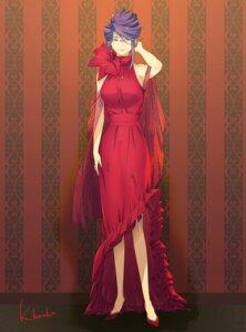 Rating: Safe Score: 10 Tags: dress heels kamishiro_rize kazamidori_haruka megane tokyo_ghoul User: charunetra