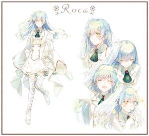 Rating: Safe Score: 19 Tags: character_design dress expression heels saijou_yukina thighhighs User: sym455