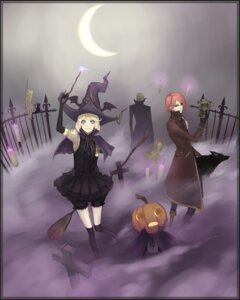 Rating: Safe Score: 16 Tags: bloomers halloween minevi witch User: Nekotsúh