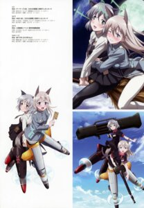 Rating: Questionable Score: 9 Tags: animal_ears eila_ilmatar_juutilainen gun sanya_v_litvyak strike_witches tail uniform User: Nepcoheart