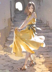 Rating: Safe Score: 53 Tags: dress heels skirt_lift zennosuke User: NotRadioactiveHonest