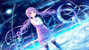 Rating: Safe Score: 72 Tags: dress sakakidani thighhighs vocaloid yuzuki_yukari User: Mr_GT