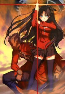 Rating: Safe Score: 37 Tags: archer fate/stay_night tagme thighhighs toosaka_rin type-moon User: vkun