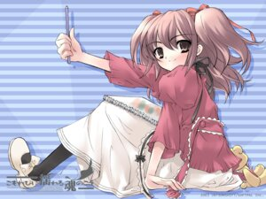 Rating: Safe Score: 8 Tags: ito_noizi komorebi_ni_yureru_tama_no_koe unisonshift wallpaper User: noirblack