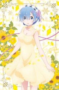 Rating: Safe Score: 28 Tags: cleavage dress re_zero_kara_hajimeru_isekai_seikatsu rem_(re_zero) summer_dress tagme User: Spidey