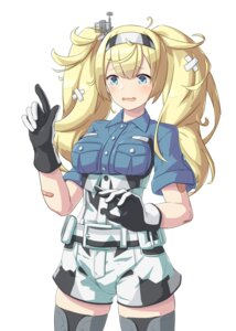 Rating: Questionable Score: 7 Tags: arthur_ko bandages bandaid gambier_bay_(kancolle) kantai_collection thighhighs uniform User: Genex