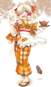 Rating: Safe Score: 8 Tags: alpaca_suri animal_ears kemono_friends maid tenya wa_maid User: Mr_GT