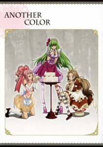 Rating: Safe Score: 29 Tags: anya_alstreim c.c. code_geass dress kimura_takahiro nunnally_in_wonderland nunnally_lamperouge pantyhose User: Radioactive