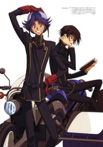 Rating: Safe Score: 4 Tags: code_geass kimura_takahiro lelouch_lamperouge male rivalz_cardemonde User: vita