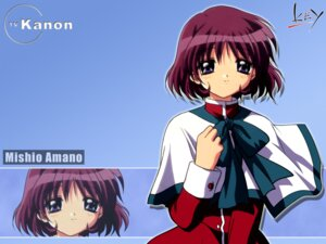 Rating: Safe Score: 5 Tags: amano_mishio kanon wallpaper User: LHM-999