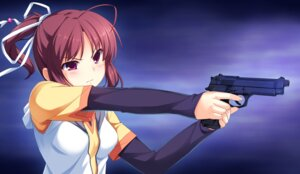 Rating: Safe Score: 19 Tags: boost5 game_cg gun racer sinclient yanase_mai User: Radioactive
