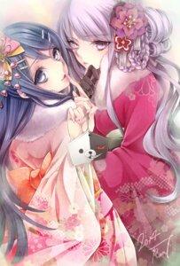 Rating: Safe Score: 29 Tags: dangan-ronpa kimono kirigiri_kyouko maizono_sayaka tagme User: charunetra