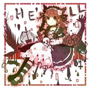 Rating: Safe Score: 5 Tags: itomugi-kun kaenbyou_rin touhou User: itsu-chan