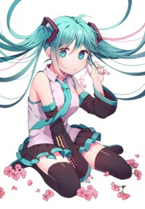 Rating: Safe Score: 27 Tags: azit_(down) hatsune_miku signed thighhighs vocaloid User: RyuZU