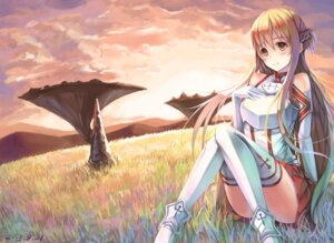 Rating: Safe Score: 44 Tags: armor asuna_(sword_art_online) feihong sword_art_online thighhighs User: zero|fade
