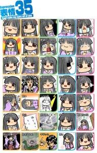 Rating: Safe Score: 17 Tags: expression houraisan_kaguya okumasama touhou User: Radioactive