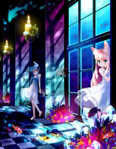 Rating: Safe Score: 25 Tags: animal_ears dress nekomimi summer_dress tanaka_nyan User: fireattack
