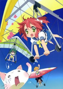 Rating: Safe Score: 16 Tags: iwasaki_minami kobayakawa_yutaka lucky_star patricia_martin seifuku tamura_hiyori User: kyoushiro