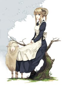 Rating: Safe Score: 27 Tags: horns luna maid User: fairyren