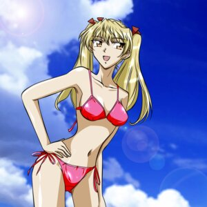 Rating: Safe Score: 6 Tags: bikini gentoku sawachika_eri school_rumble swimsuits User: BunnyGirls
