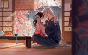 Rating: Safe Score: 35 Tags: inuyasha japanese_clothes mmmilk pointy_ears rin_(inuyasha) sesshoumaru User: Mr_GT