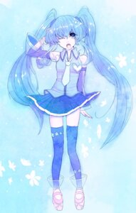 Rating: Safe Score: 7 Tags: hatsune_miku kotetu thighhighs vocaloid User: Nekotsúh