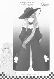 Rating: Safe Score: 3 Tags: dress genshou_koubou monochrome sugiyama_genshou umineko_no_naku_koro_ni virgilia User: Radioactive