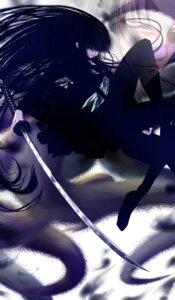 Rating: Safe Score: 10 Tags: auge hagomoro_kitsune nurarihyon_no_mago pantyhose seifuku sword User: charunetra